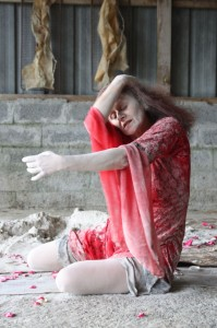 Buto, Butoh, Rennes, Paris, Tina, Besnard, Cours, Stages, Ateliers, performances