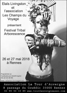 Tribal, Buto, danse, Rennes, stage, atelier, festival, butoh, ats, fusion, tina besnard, elais livingston,