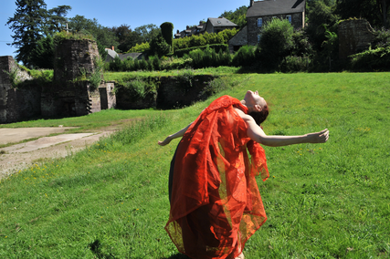 Tina Besnard, danse, buto, butoh, rennes, bretagne, stage,